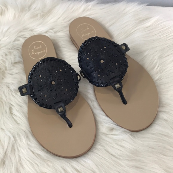 ddf1e25fe Jack Rogers Shoes | New Georgica Medallion Thong Sandals | Poshmark
